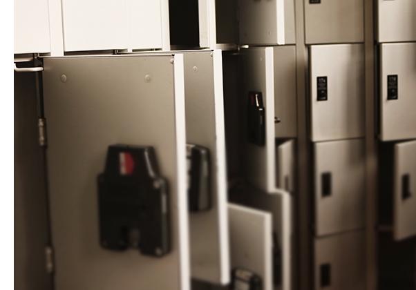 Rfid lockers