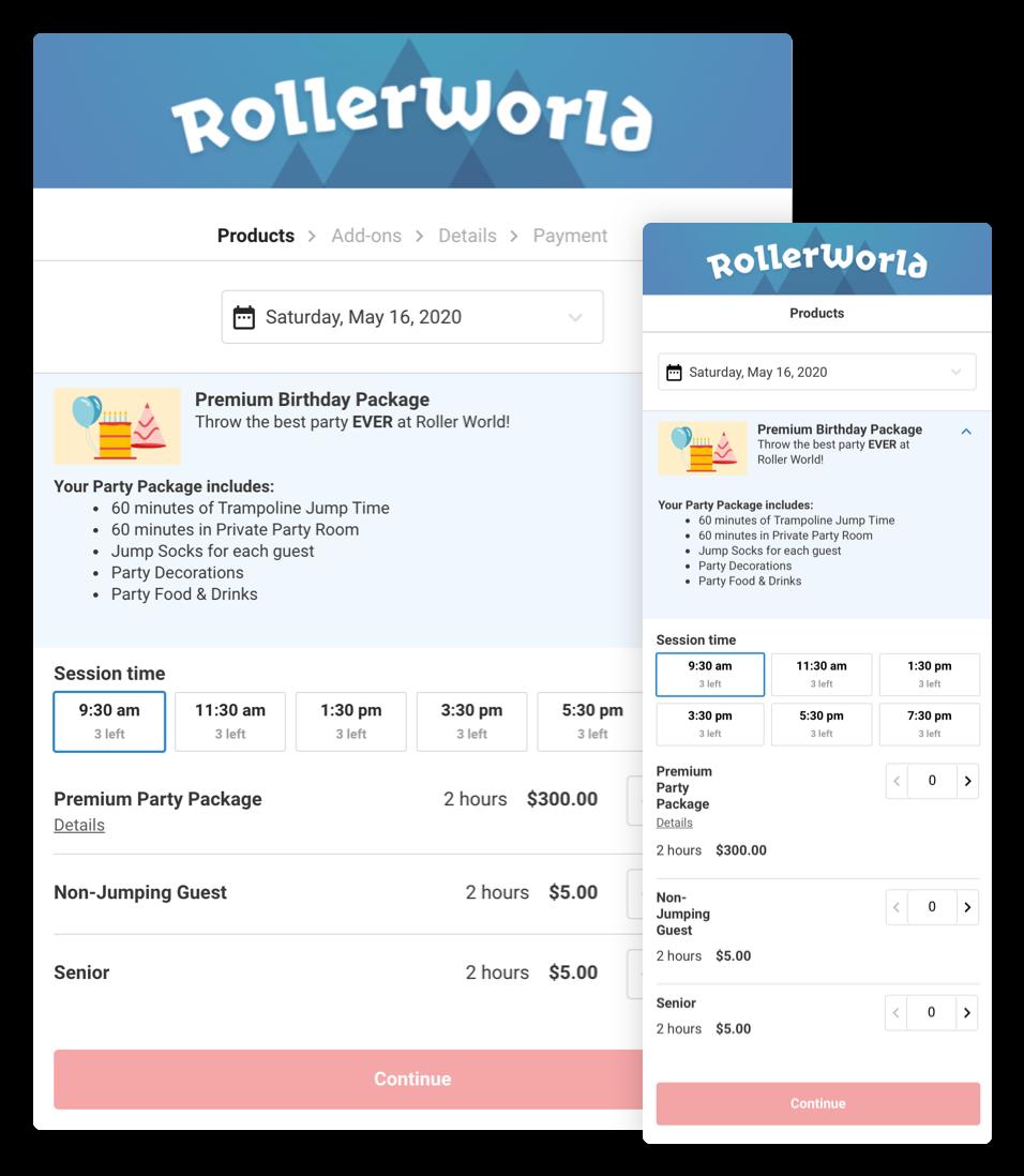 rollerworld demo
