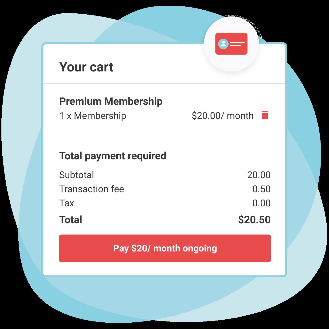 cart - membership