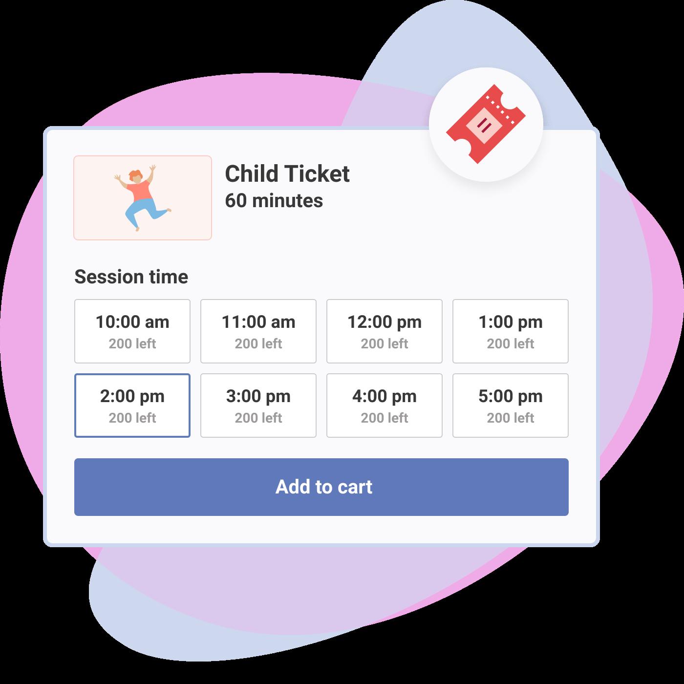 FEC Time based ticket