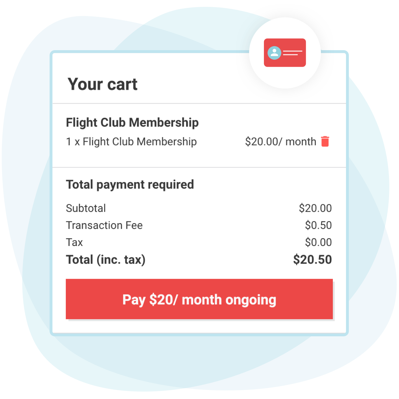 memberships recurring